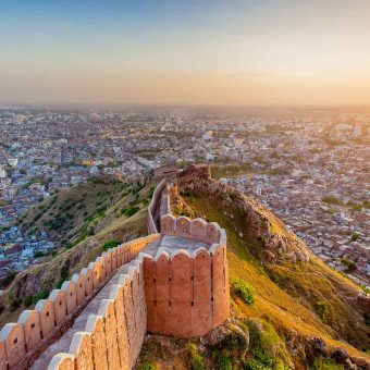 Fortification_Jaipur_Inde